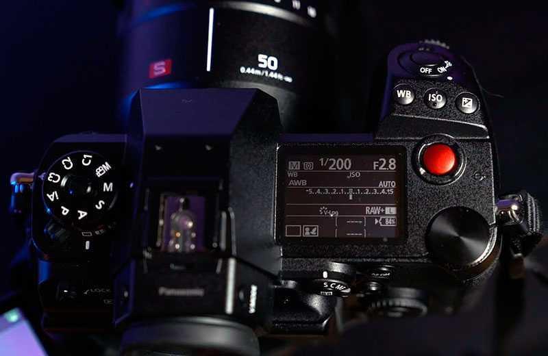 Panasonic S1H качесво видео
