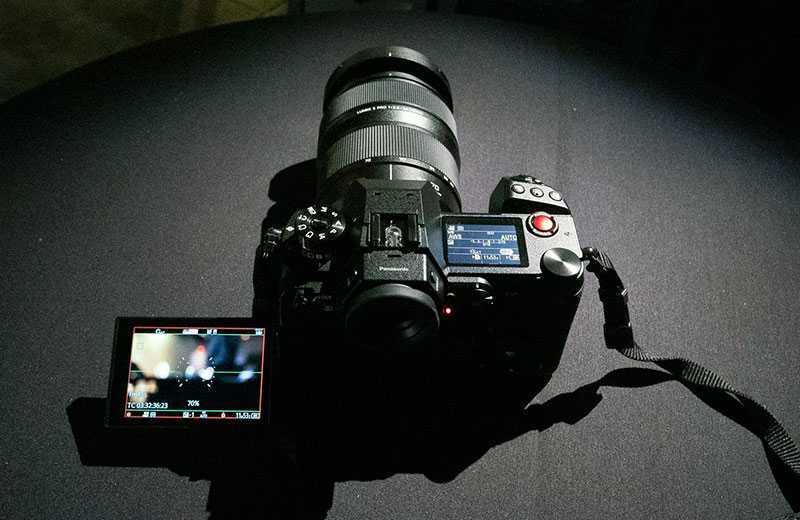 Panasonic S1H дизайн