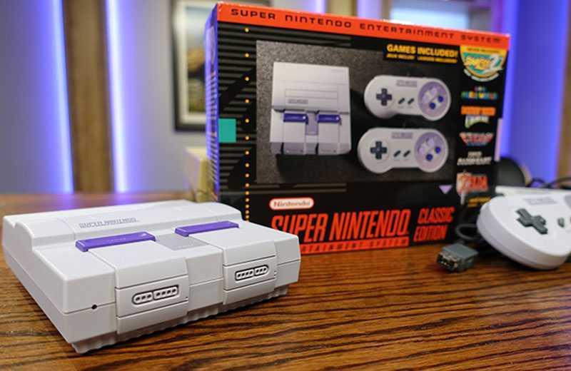 SNES Classic: лучшая бюджетная игровая приставка с ретроиграми