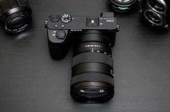 Обзор Sony A6600: камера c большими возможностями — Отзывы TehnObzor