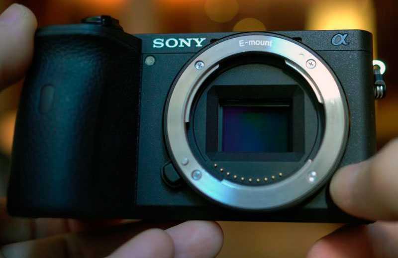 Sony A6600 дизайн