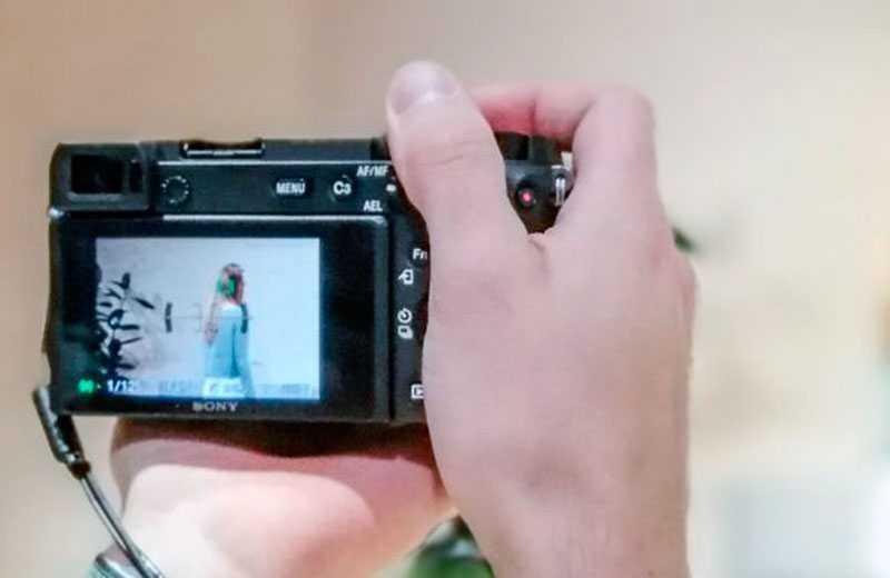 Sony A6600 видоискатель