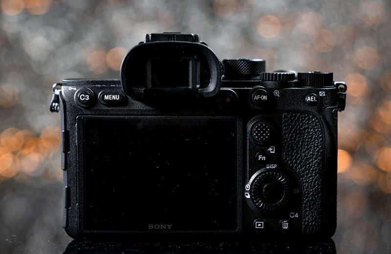 Sony A7R IV видоискатель