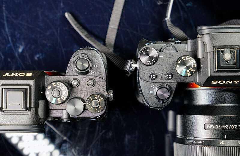 Sony A7R IV управление