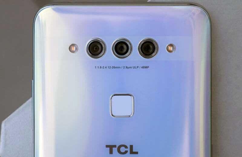 TCL Plex камера