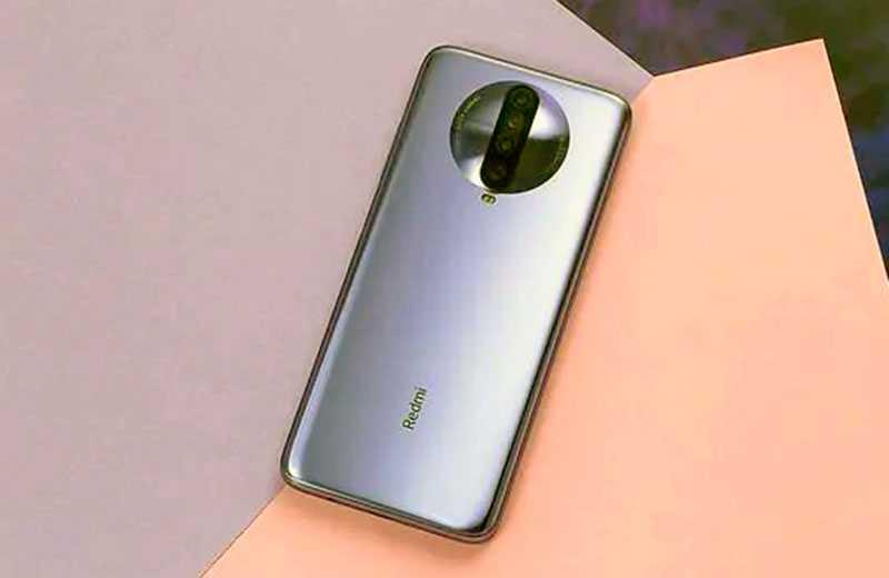 Xiaomi Redmi K30 дизайн