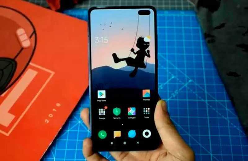 Xiaomi Redmi K30 дисплей