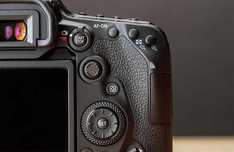 Canon EOS 90D кнопки