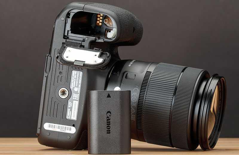 Canon EOS 90D аккумулятор