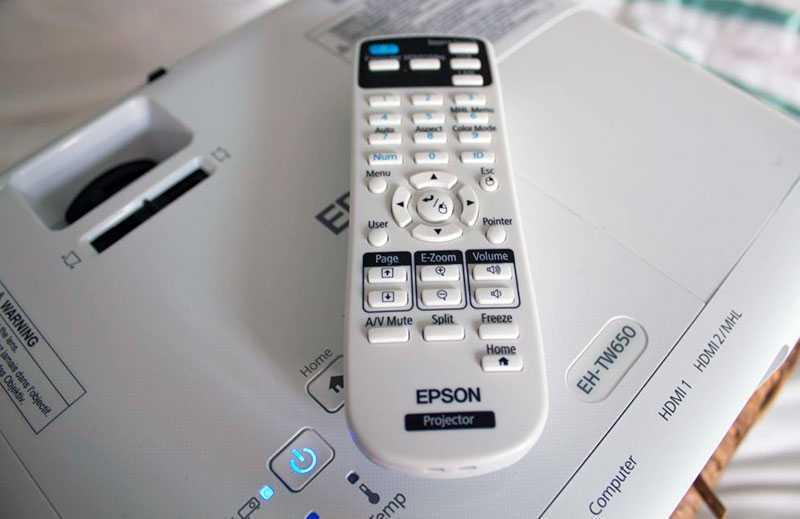 Epson EH-TW650 настройка