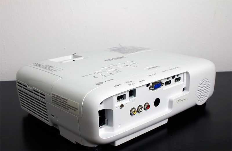 Epson EH-TW650 разъёмы