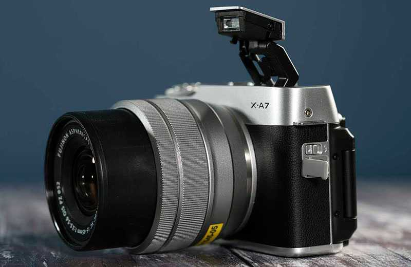 Обзор Fujifilm X-A7