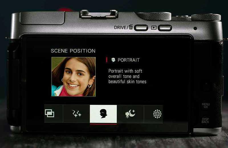 Fujifilm X-A7 режимы