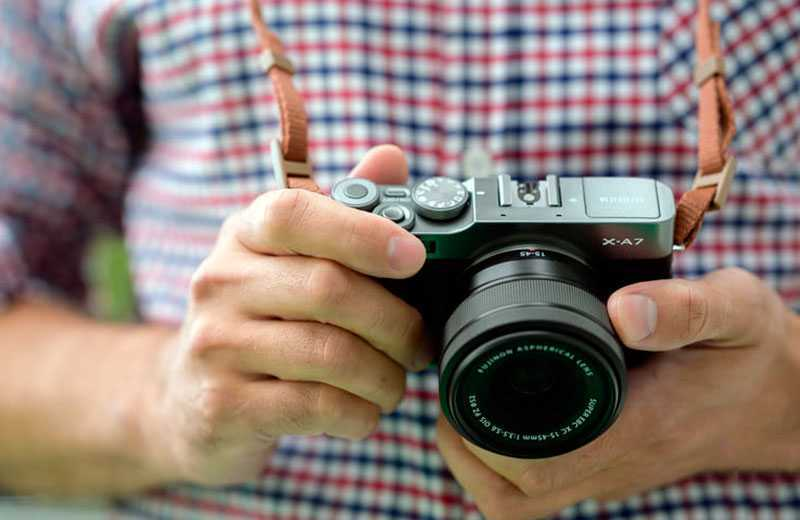 Fujifilm X-A7 на практике