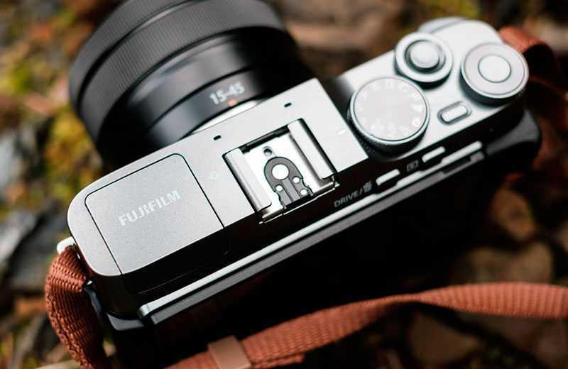 Fujifilm X-A7 дизайн