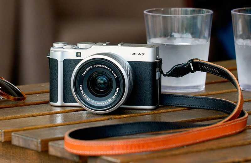 Fujifilm X-A7 камера