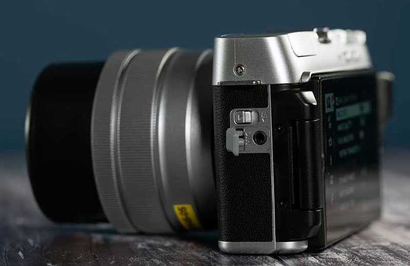 Fujifilm X-A7 в работе