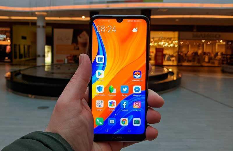 Huawei Y6s экран