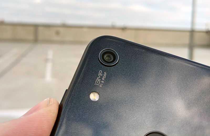 Камера Huawei Y6s