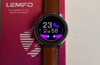 Обзор LEMFO ELF2 спортивных часов с ЭКГ — Отзывы TehnObzor