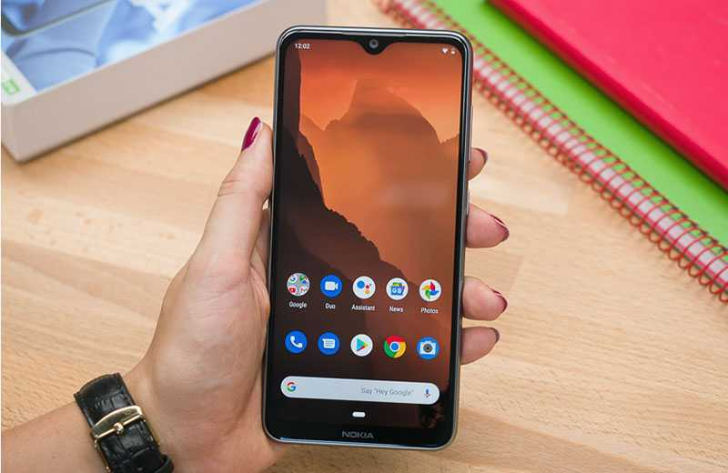 Nokia 6.2 экран