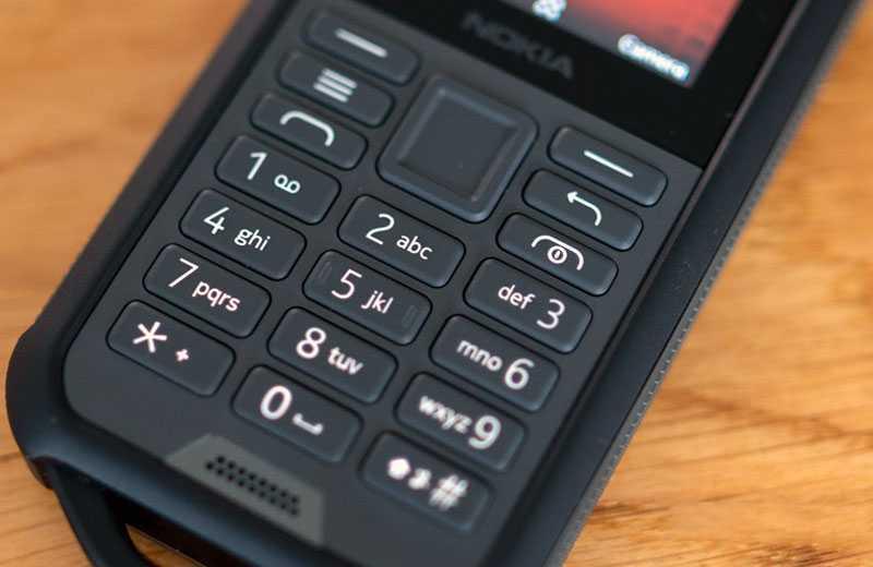 Nokia 800 Tough кнопки управления
