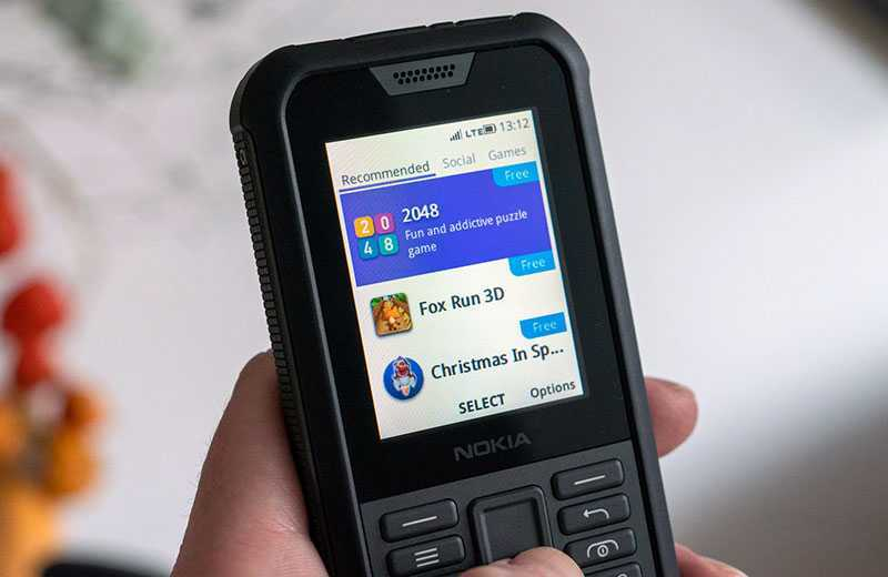 Nokia 800 Tough ОС