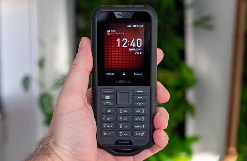 Nokia 800 Tough дизайн