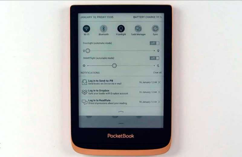 Читалка Pocketbook Touch HD 3