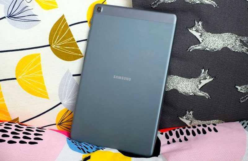Samsung Galaxy Tab A 10.1 сзади