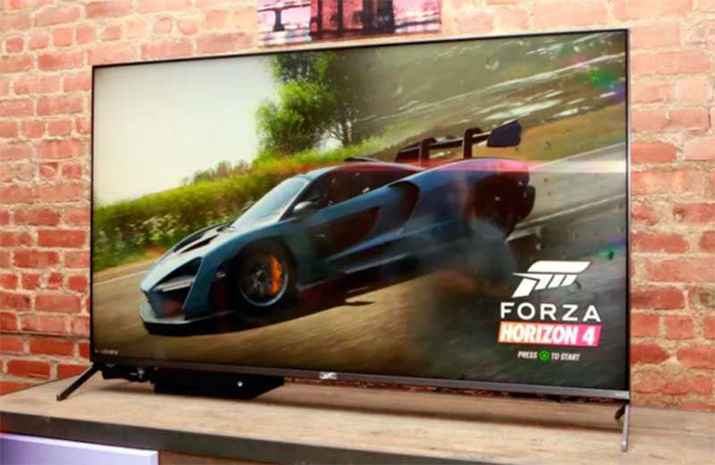 TCL 4K R625 HDR TV игры