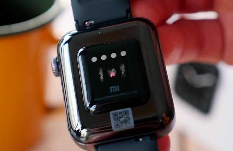 Xiaomi Mi Watch датчики