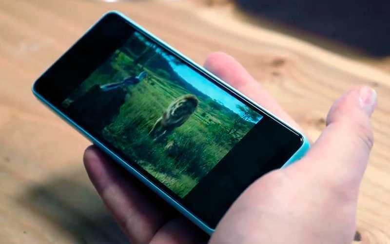 Xiaomi Qin 2 дисплей