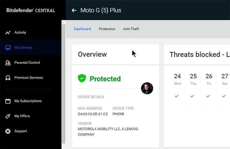 Bitdefender Internet Security 24.0