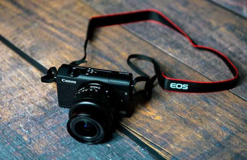Canon EOS M200 дизайн