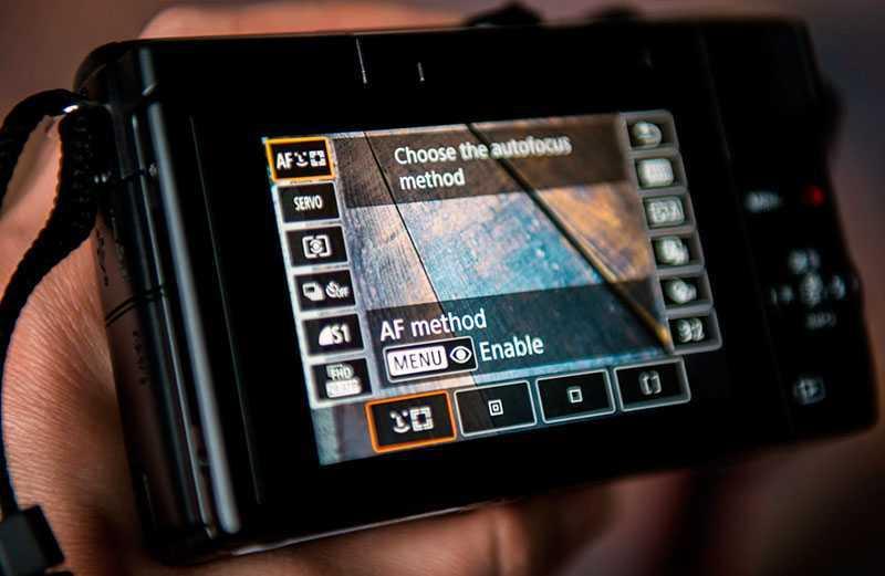 Canon EOS M200 производительность