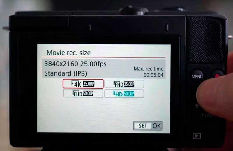 Canon EOS M200 режимы