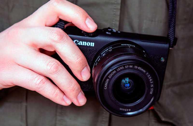 Canon EOS M200 качество видео
