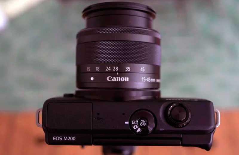 Характеристики Canon EOS M200