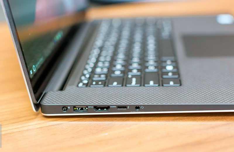 Dell XPS 15 (7590) разъёмы и порты