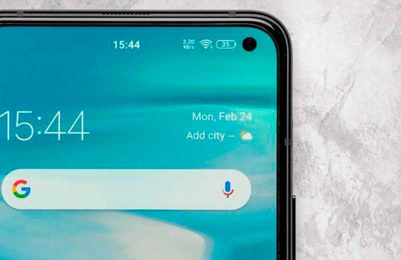 iQOO 3 5G дисплей