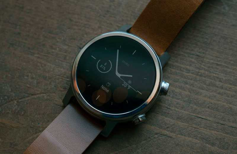 Усные часы Moto 360 (2019)