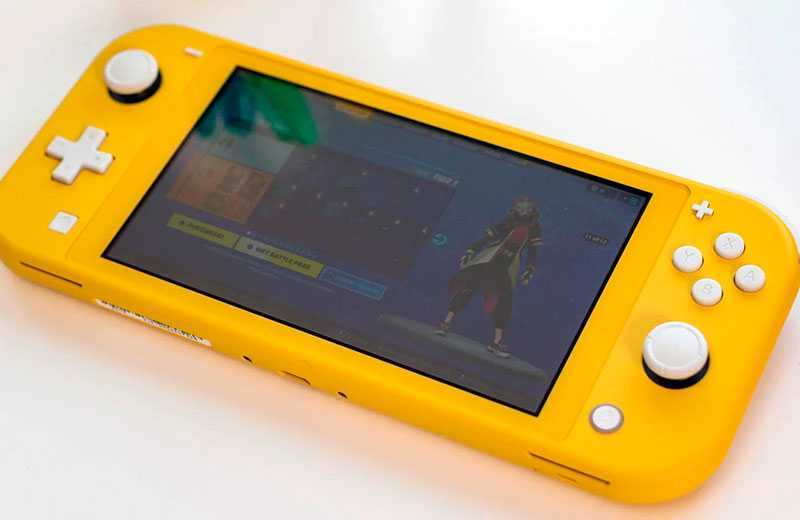 Тест Nintendo Switch Lite