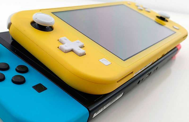 Консоль Nintendo Switch Lite