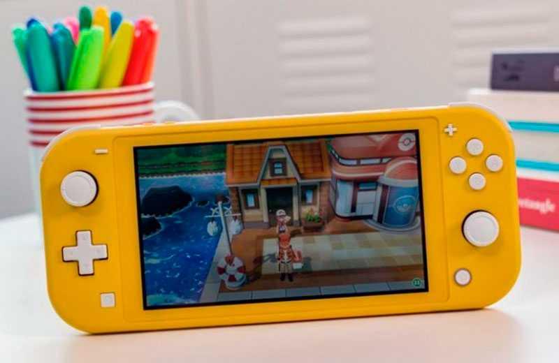 Nintendo Switch Lite особенности
