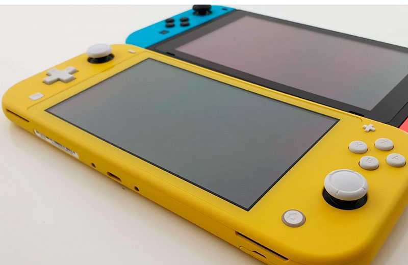 Nintendo Switch Lite сравнение