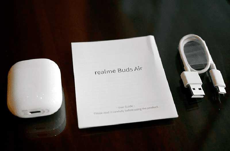 Характеристики Realme Buds Air
