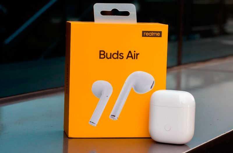 Обзор Realme Buds Air TWS наушников — Отзывы TehnObzor