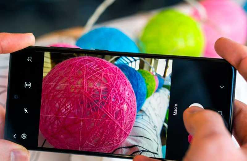 Samsung Galaxy A51 съёмка