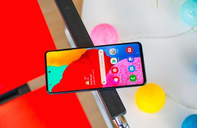 Samsung Galaxy A51 производительность